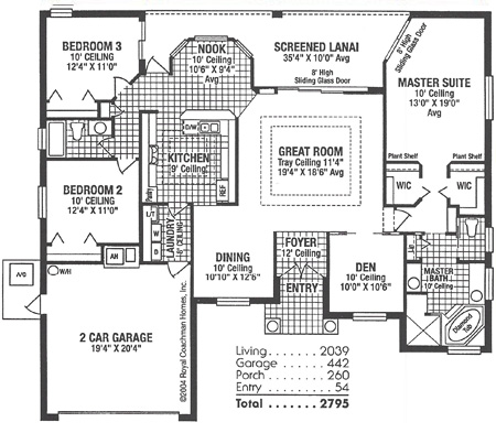 Royal Avondale Floorplan