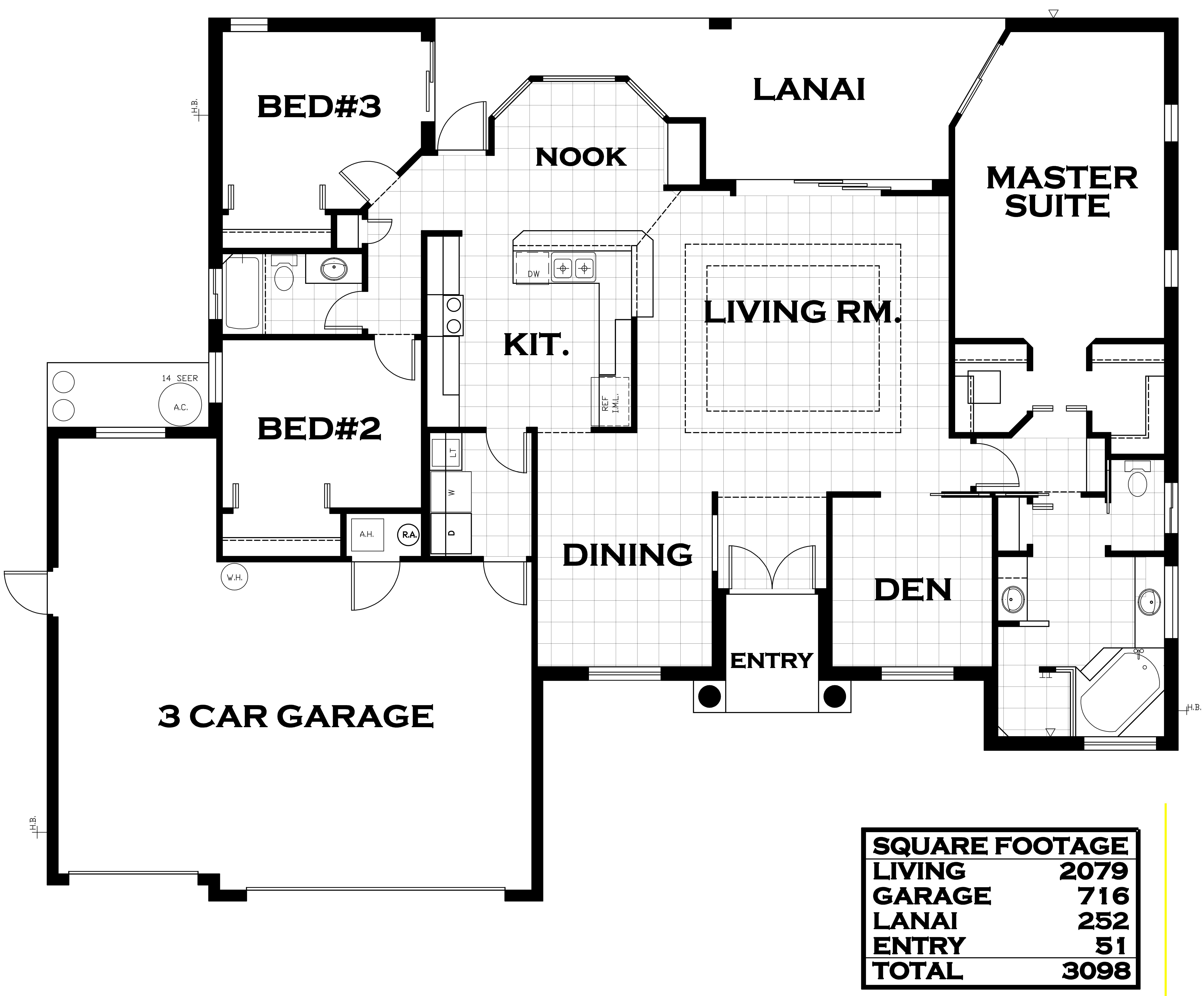 chelsea II Floorplan