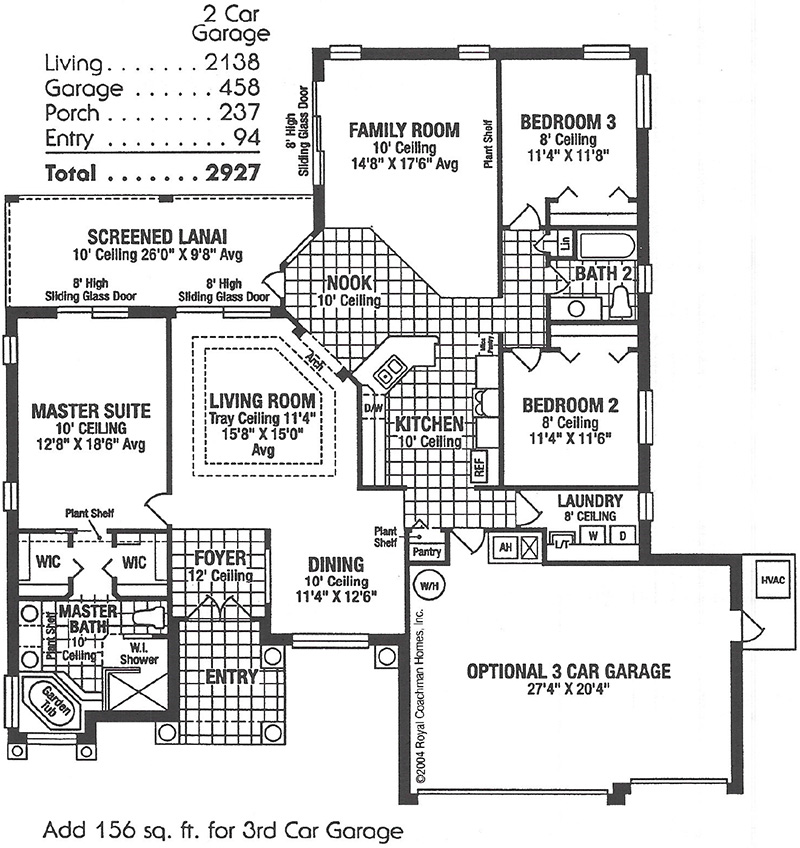 Royal Kensington II Elite Floorplan
