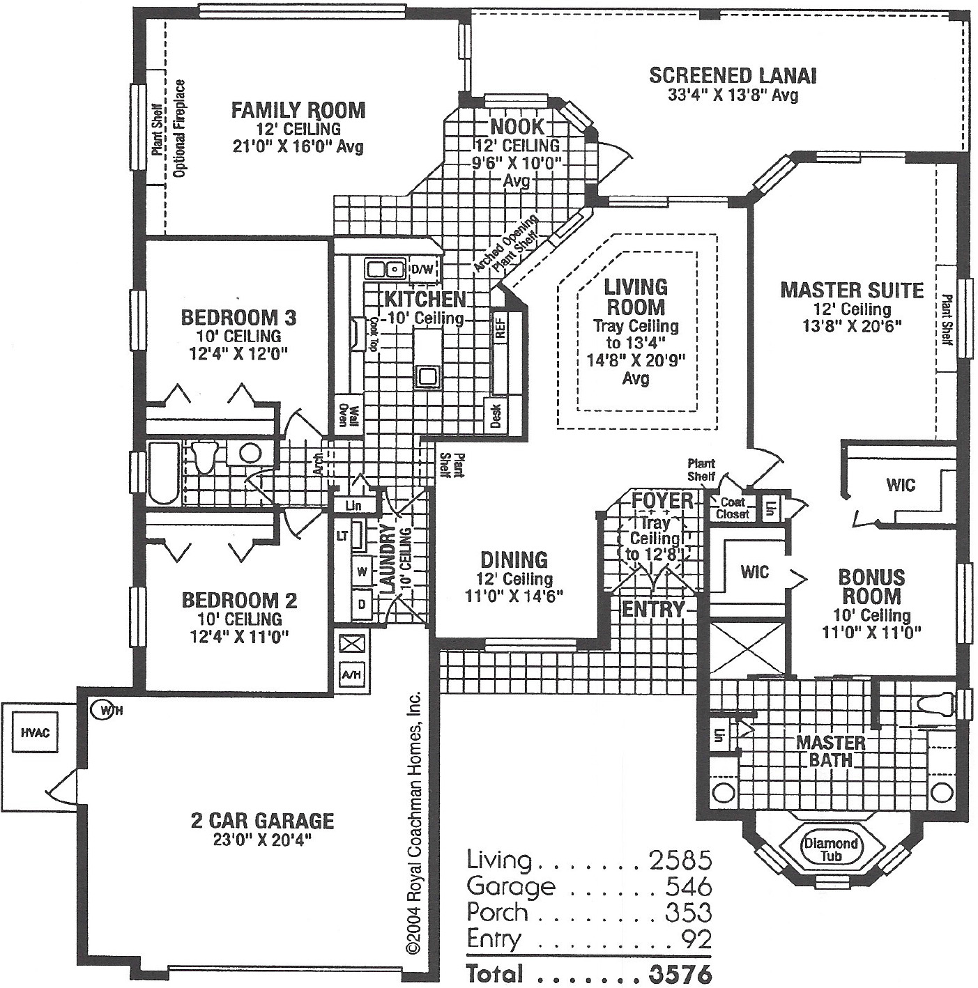 Royal Lancaster Floorplan