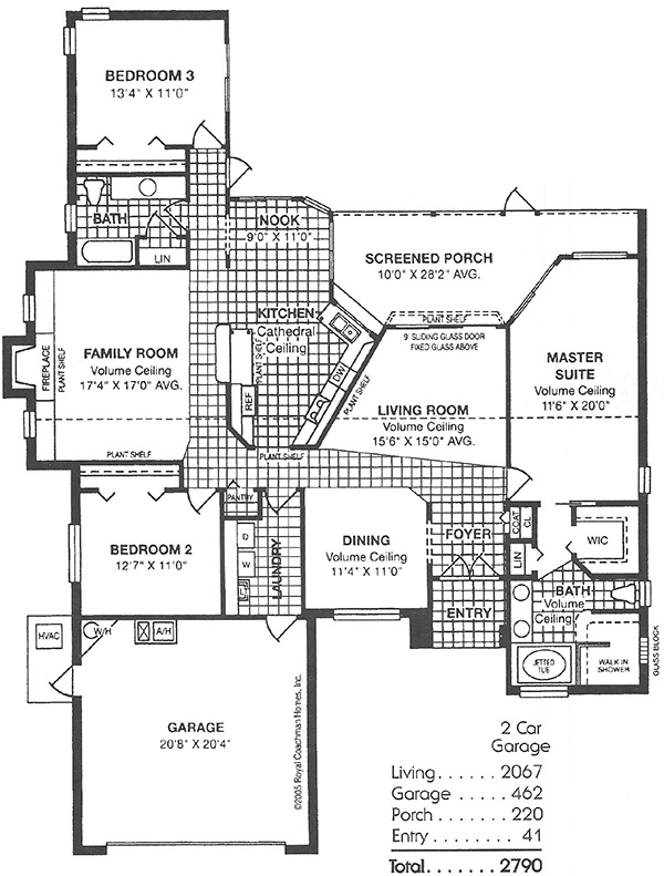 Oxford model home royal coachman homes builder new home for Oxford floor plan